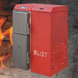 Stoves and boilers for central heating
